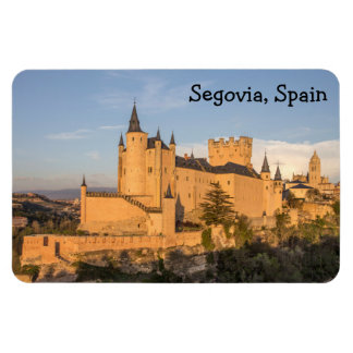 Alcazar in Segovia, Spain Premium Flexi Magnet