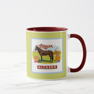 Alcazar the Race Horse Mug