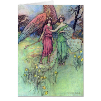 Alceste and the God of Love, Card