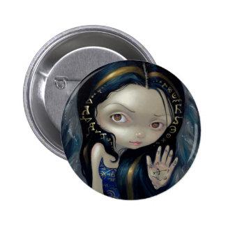 """Alchemical Angel V"" Button"