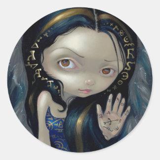 """Alchemical Angel V"" Sticker"