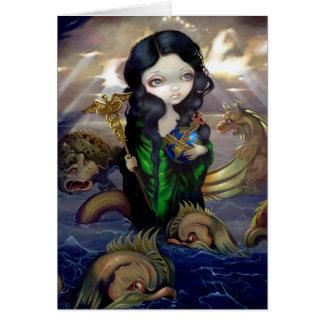 """Alchemical Seas"" Greeting Card"