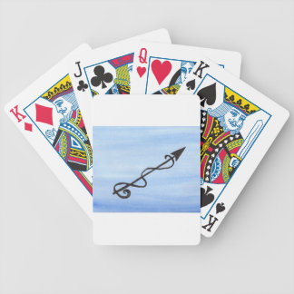 Alchemical Symbol: Purify Bicycle Playing Cards