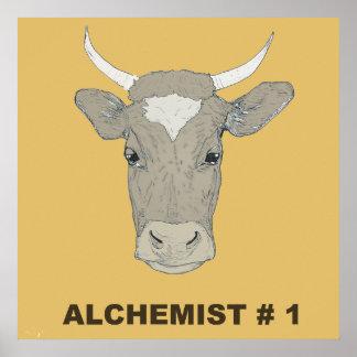 Alchemist cow poster