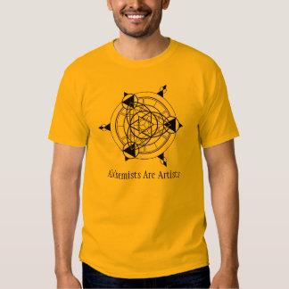 Alchemists Are Artists T Shirts