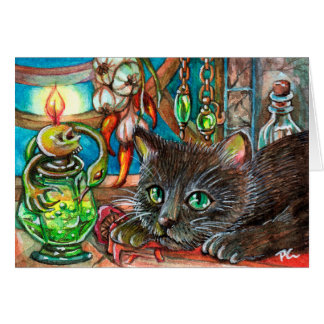 Alchemist's Cat Card