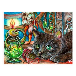 Alchemist's Cat Postcard