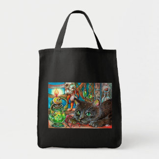 Alchemist's Cat Tote Bag