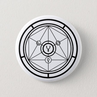 Alchemy Circle 2 Inch Round Button