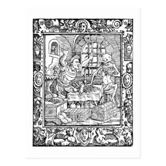 Alchemy History postcard