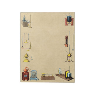 Alchemy Laboratory Apparatus Notepad