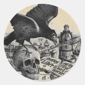 Alchemy Laboratory Classic Round Sticker