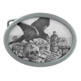 Alchemy Laboratory Oval Belt Buckles