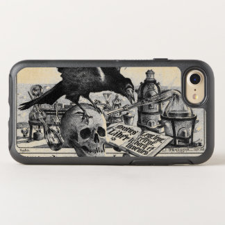 Alchemy Laboratory Raven and Human Skull OtterBox Symmetry iPhone 7 Case