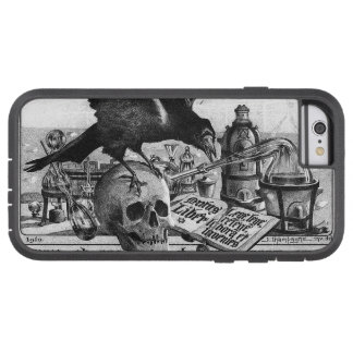 Alchemy Laboratory Raven and Human Skull Tough Xtreme iPhone 6 Case