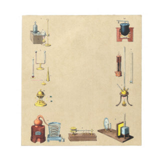 Alchemy Laboratory Tools for the Great Work Notepads