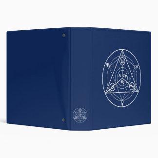 Alchemy manifesto 3 ring binders