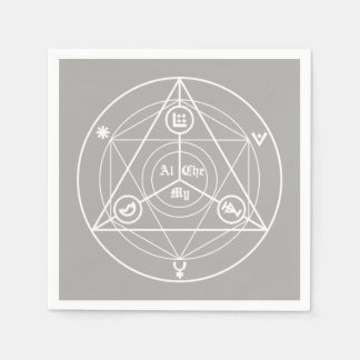 Alchemy manifesto disposable napkins