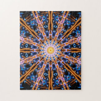 Alchemy Star Mandala Jigsaw Puzzle