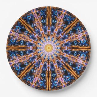 Alchemy Star Mandala Paper Plate