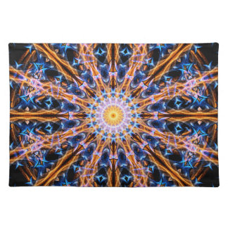 Alchemy Star mandala Placemat
