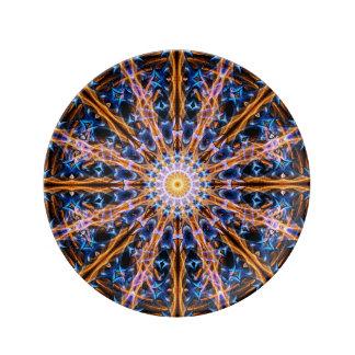 Alchemy Star Mandala Plate