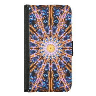 Alchemy Star mandala Samsung Galaxy S5 Wallet Case