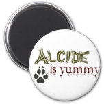 Alcide is Yummy. Refrigerator Magnets