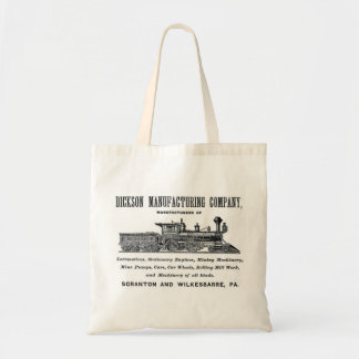 Alco - Dickson Manufacturing Company 1856 Budget Tote Bag