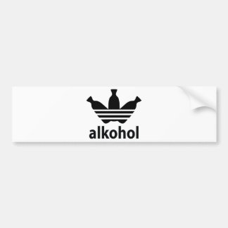 Alco-get/alcohol Bumper Sticker