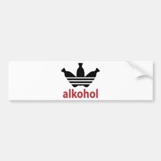 Alco-get/alcohol Bumper Sticker