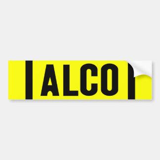 ALCO - Powered by Alco Locomotive Company Bumper Sticker