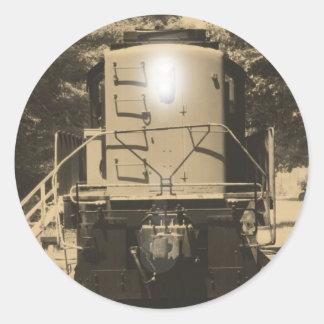 Alco S-4 Locomotive Classic Round Sticker