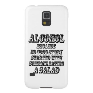 ALCOHOL - Because Galaxy S5 Case