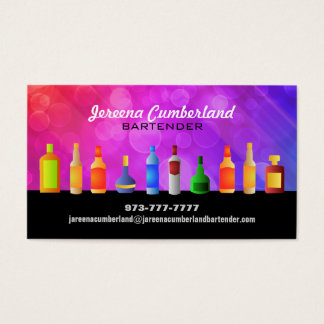 Alcohol Business Cards