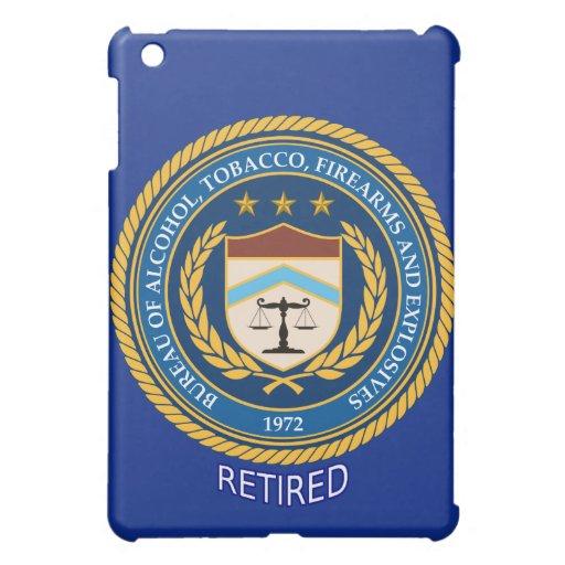 Alcohol Tobacco and Firearms Retired iPad Mini Case
