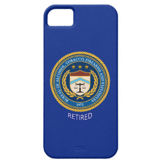 Alcohol Tobacco and Firearms Retired iPhone 5 Case