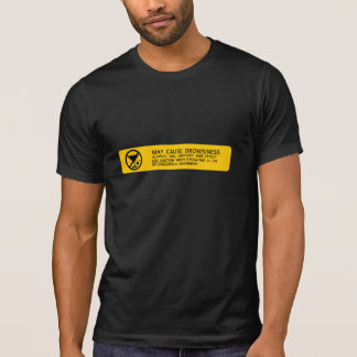 Alcohol will groovify this effect T-Shirt