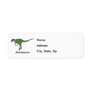 Alctrosaurus Return Address Labels