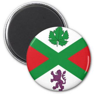 Alcudia De Monteagud, Spain flag Magnet
