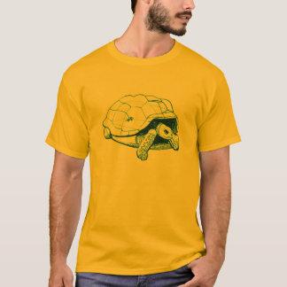 aldabra tortoise with gecko T-Shirt