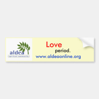 Aldea bumper sticker - Customized - Customized