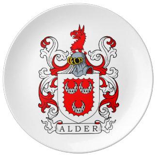 Alder Coat of Arms Plate