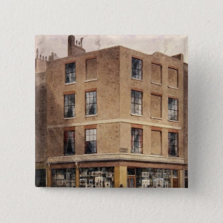 Alderman Moon's print shop, 2 Inch Square Button