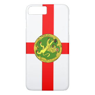 Alderney flag Guernsey symbol british iPhone 8 Plus/7 Plus Case