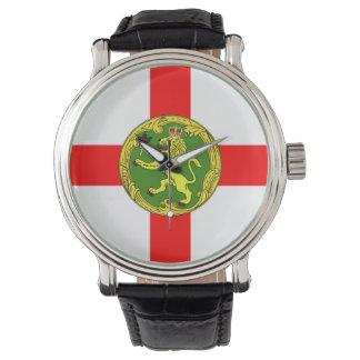Alderney flag Guernsey symbol british Watch