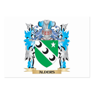 Alders Coat Of Arms Business Card