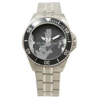 ALDO Relaxing Guitar Music Stylish Stainless Watch
