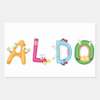Aldo Sticker