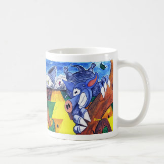 Aldo the Armadillo Coffee Mug